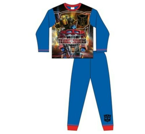 Transformers Postman Pat Boys Pyjamas Nightwear Pyjama Set Ages 18m to 10 Years