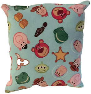 Toy-Story-Pillow-Tossed-Buzz-Woody-Pillow-Disney-Gang-Pillow-HANDMADE-in-USA