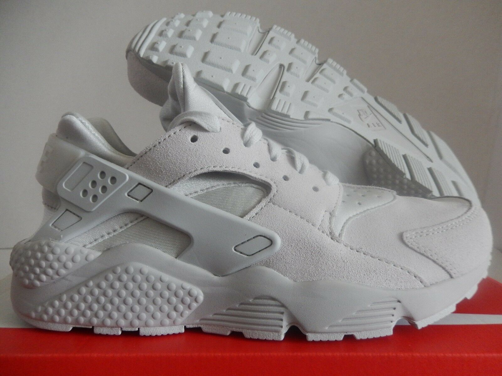 NIKE AIR HUARACHE RUN PRM PREMIUM NEUTRAL GREY Price reduction Wild casual shoes