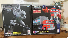 Takara Tomy Transformers Masterpiece MP-10 Optimus Prime VS MP-36 Megatron Set