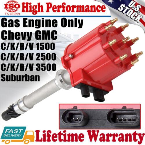 BILLET PERFORMANCE RACING DISTRIBUTOR for GMC CHEVY Chevrolet V8 5.0L 5.7L 7.4L