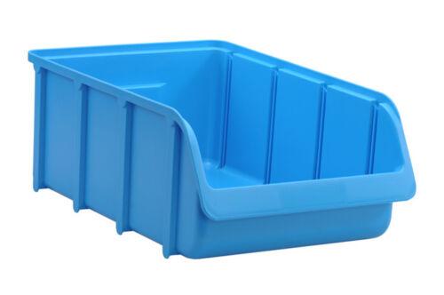 Profi Sichtbox PP Größe 5 blau NEU 495x315x185 mm Stapelbox Sicht-Lagerbox Box
