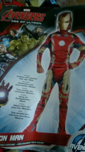 Marvel Avengers Iron Man or THE HULK  AGE OF ULTRON  New  med 8-10  2//4 toddler