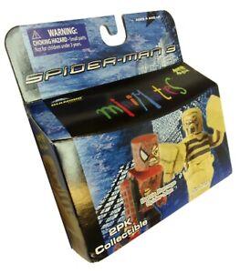 Marvel SPIDER-MAN 3 Minimates Action Figures Battle Damage Spidey/Sandman MIB