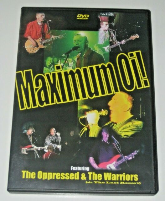 Maximum Oi! : The Oppressed & The Warriors DVD - (B6)