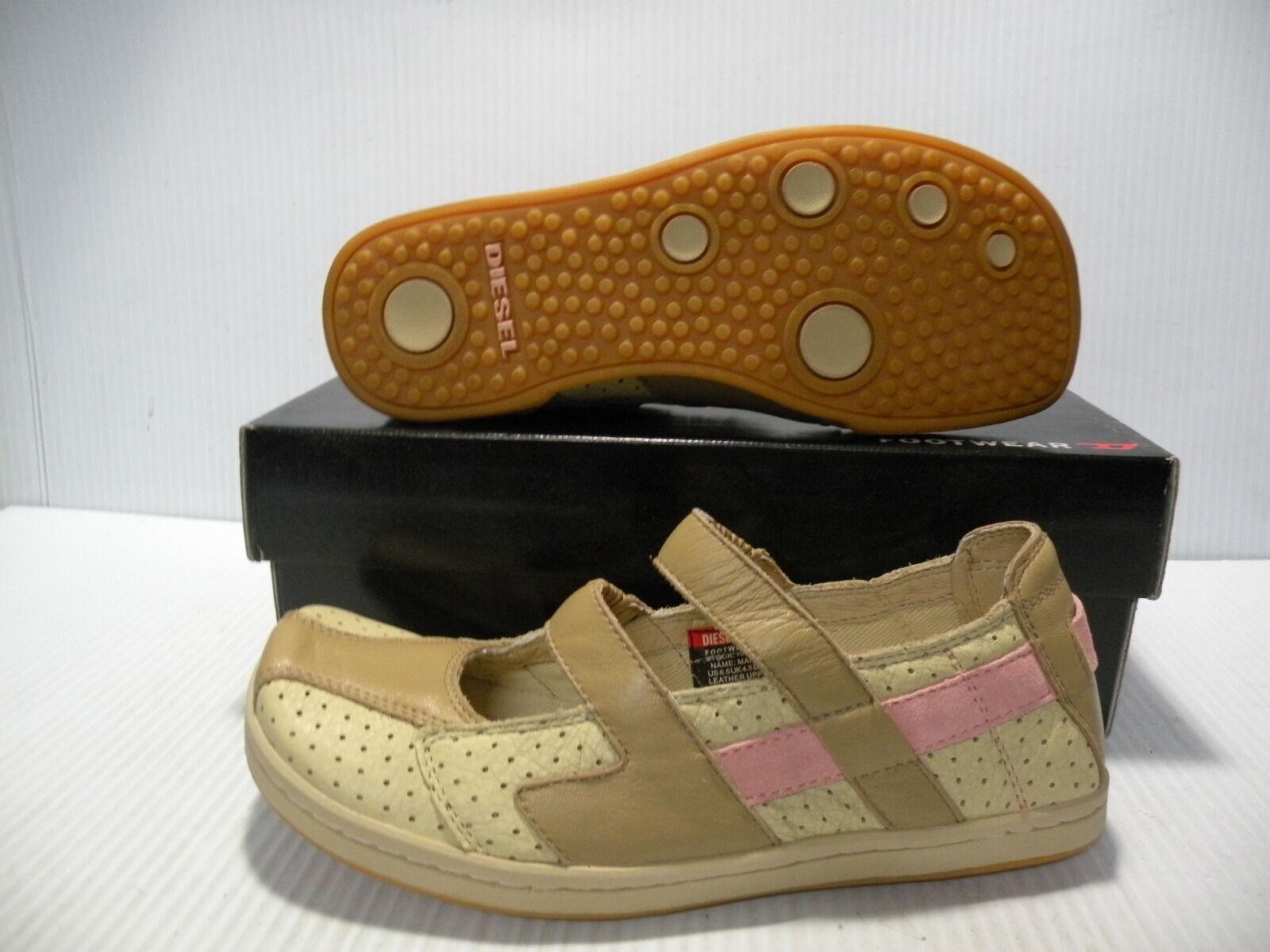 DIESEL MARLISE LOW VINTAGE WOMEN Schuhe MYO/BEACH/SCAL 4996 SIZE 6.5 NEW