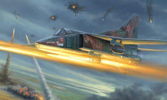 Trumpeter 1 48 MiG-27M Flogger-J
