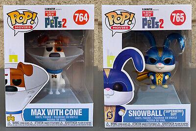 Max in Cone Brand New In Box POP Movies Funko Secret Life Of Pets 2