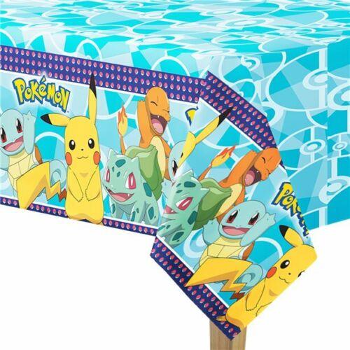 Pokemon Party Tischdecke 180cm x 120cm Geburtstag