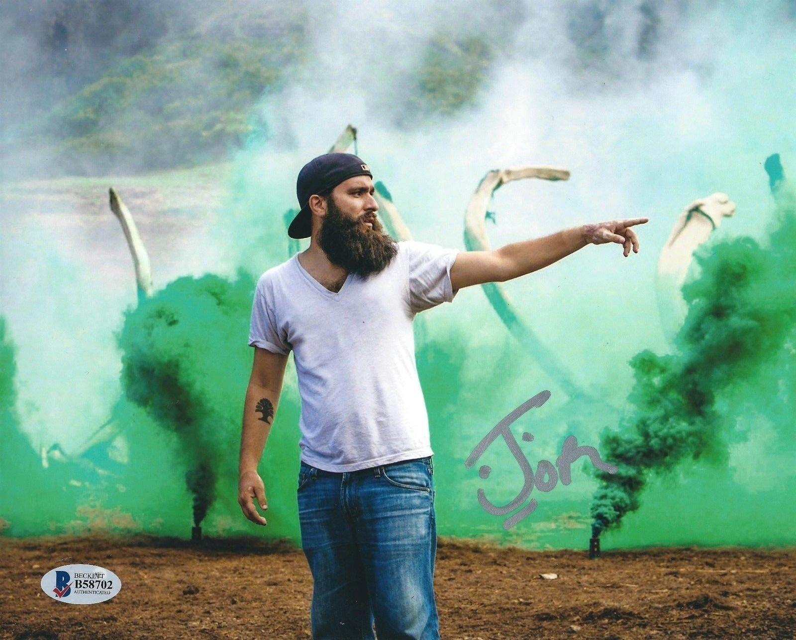 Jordan Vogt-Roberts Signed 'Kong: Skull Island' 8x10 Photo *Director BAS Beckett