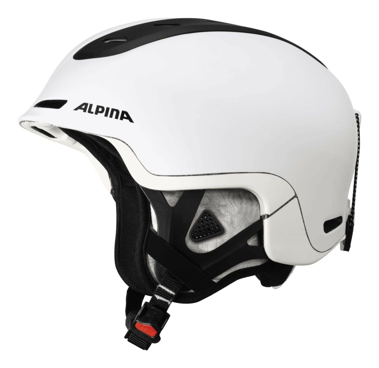 Alpina Spine Skihelm - Weiß matt