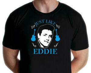 Eddie Cochran - Just Like Eddie  T-shirt (Jarod Art Design)