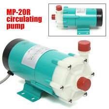 Industrial Chemical Magnetic Drive Circulation Water Pump 17lmin 110v Mp 20r Us