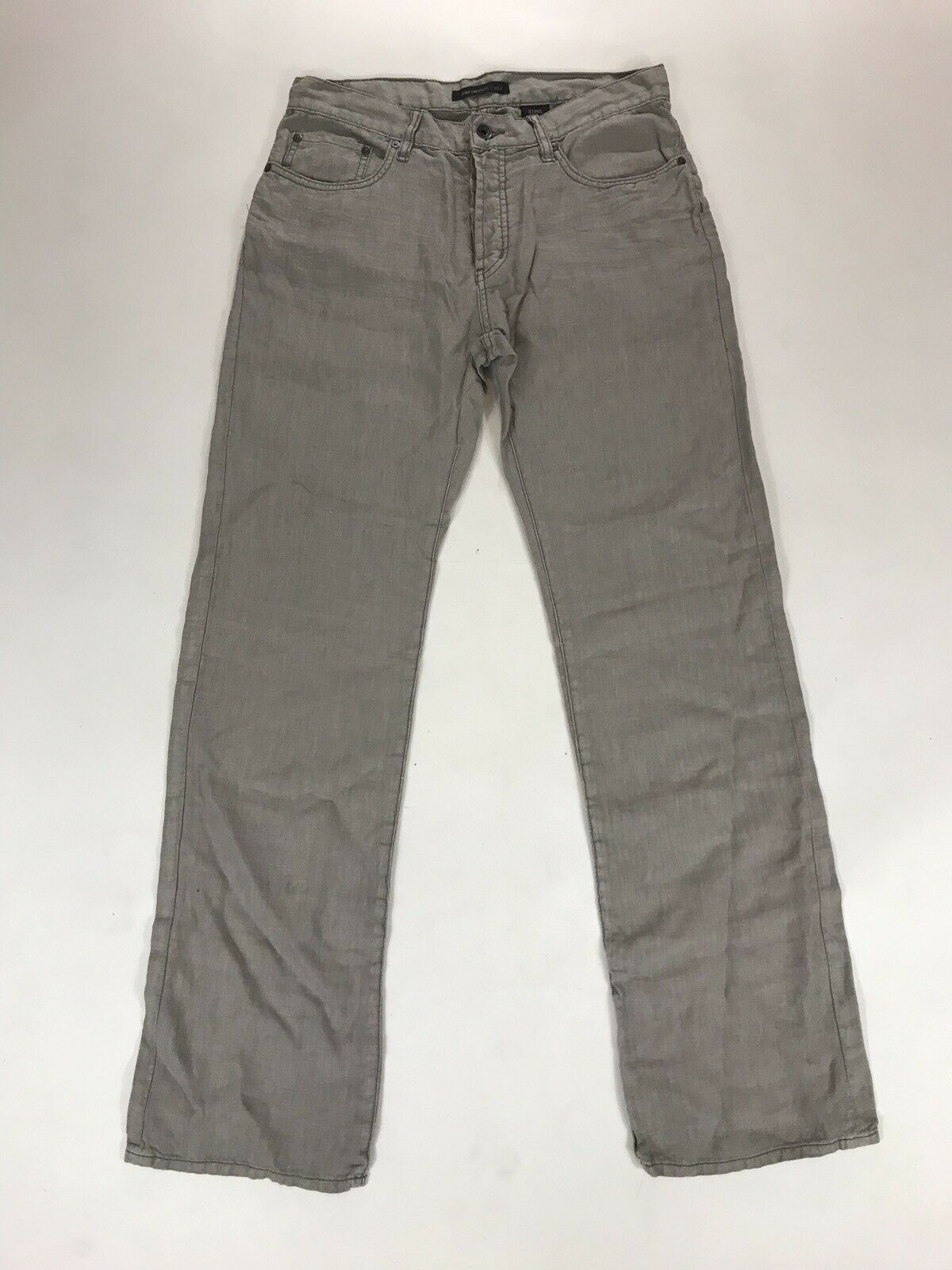 NWT John Varvatos Mens Star USA Straight Leg Jeans Authentic Fit Size 31