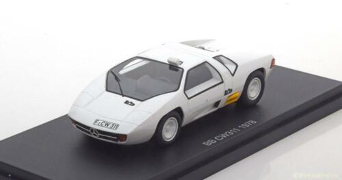 1:43 BoS Mercedes BB CW311 1978 white