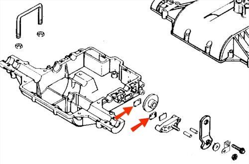 s l500 fits john deere mia10323 brake pad kit 170 175 180 185 stx30 stx38