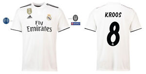 Camiseta-adidas-real-madrid-2018-2019-Home-UCL-kroos-128-3xl-Champions-League