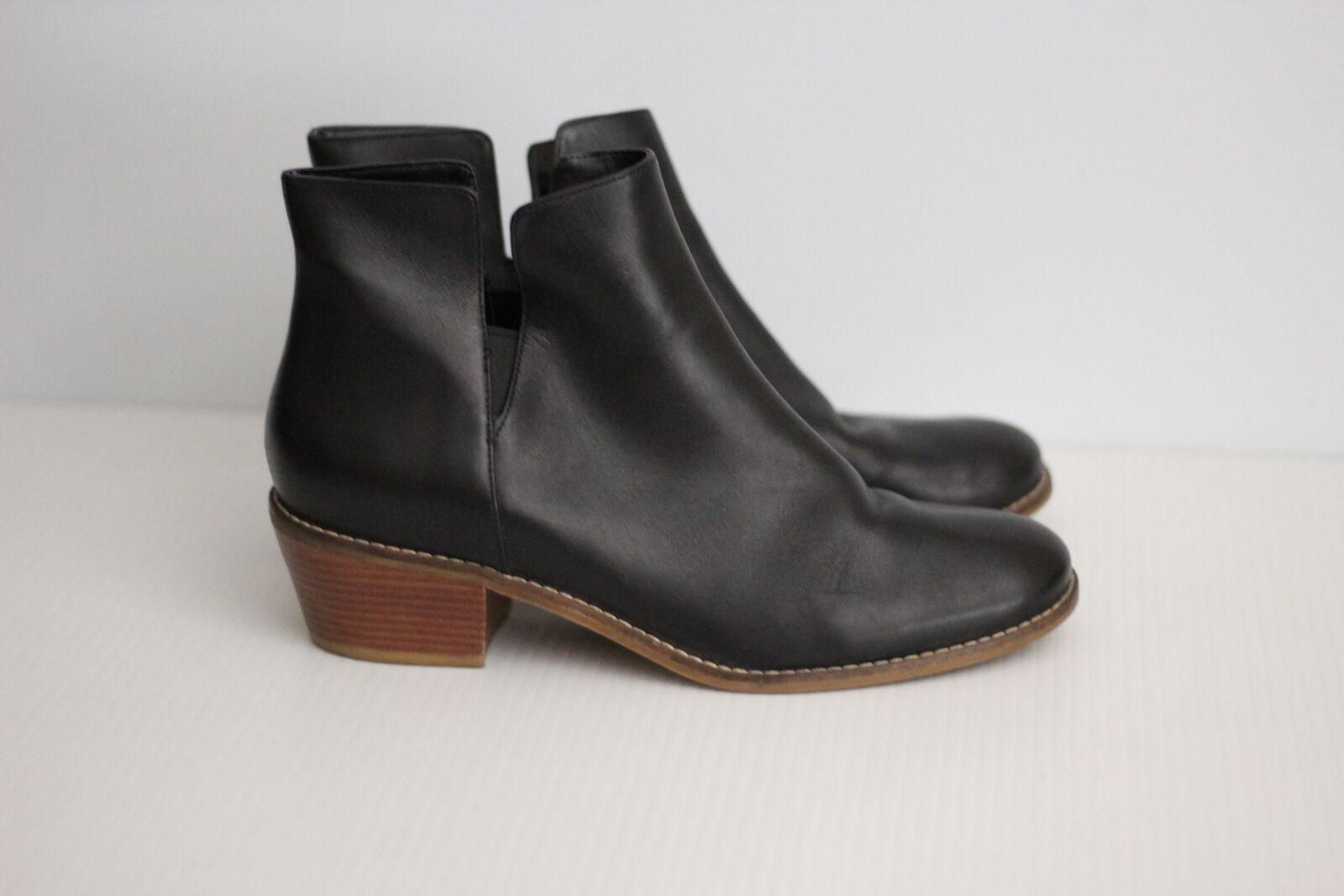 vendita scontata online di factory outlet Cole Haan Abbot Chelsea avvio D44240 - nero Leather Leather Leather - 9 B  (C42)  autentico