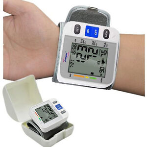 Image Is Loading Fully Auto Pocket Blood Pressure Monitor Wrist Cuff