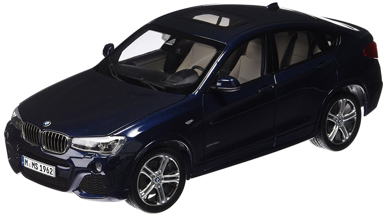 PAR97092  Voiture BMW X4 de Coloreee blu
