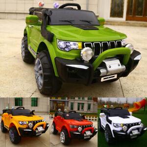 AUTO-ELETTRICA-PER-BAMBINI-MACCHINA-JEEP-2-POSTI-4WD-12V-CON-TELECOMANDO-USB-MP3