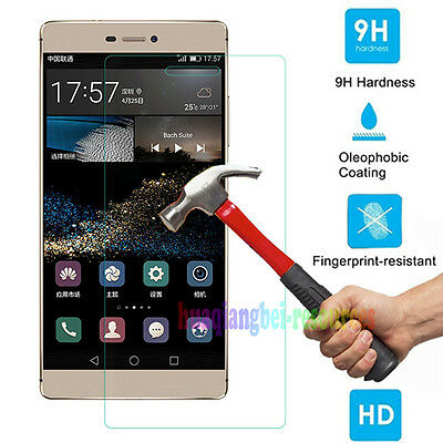 9H Premium Tempered Glass Film Screen Protector For Huawei Ascend P8/ P8 Lite P9