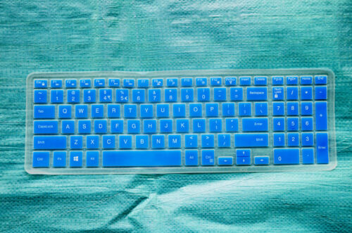 Keyboard Cover Skin for Dell Inspiron 15-3551 i3551 15-3552 i3552 15-7559 i7559