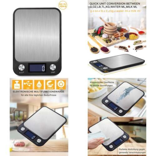Benefast 1G Bis 10 Kg Touch Control Digitale Küchenwaage Leuchte Usb Aufladen