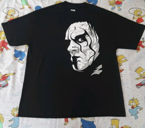 Sting T-Shirt L Reprint WWE/WWF/WCW Authentic Big