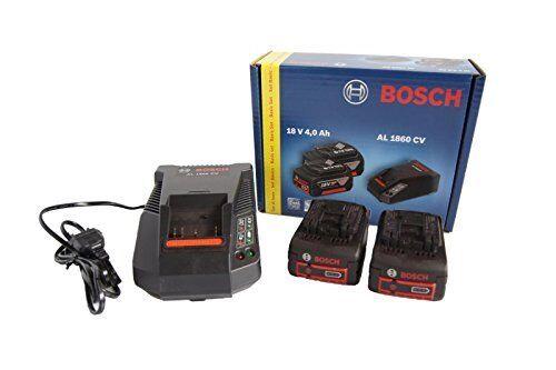 BOSCH Power Set 18v Cargador más 2 baterías de 4,0 Ah 0615990FP8