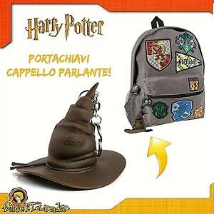 Llavero-Llavero-Sombrero-Parlante-Por-Harry-Potter-Hogwarts-Keychain-Nuevo