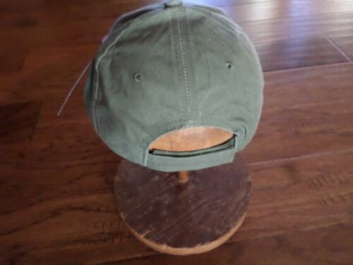 U.S Military Army MARINE CORPS blessé Guerrier CHAPEAU BONNET od green stone washed