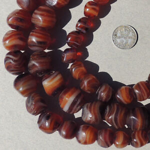 32-inch-strand-old-antique-czech-glass-agate-african-trade-beads-92