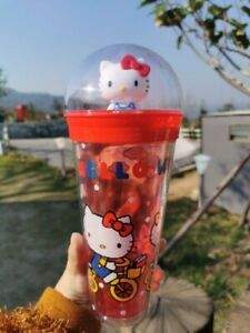 Hello Kitty Tumbler Dome Cup Cute Limited Collection 2020 Yellow 22oz