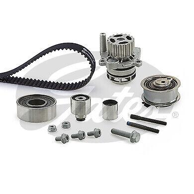 Gates Powergrip Timing Belt /& Water Pump Kit VW Scirocco 2.0 TDI 2008-2015