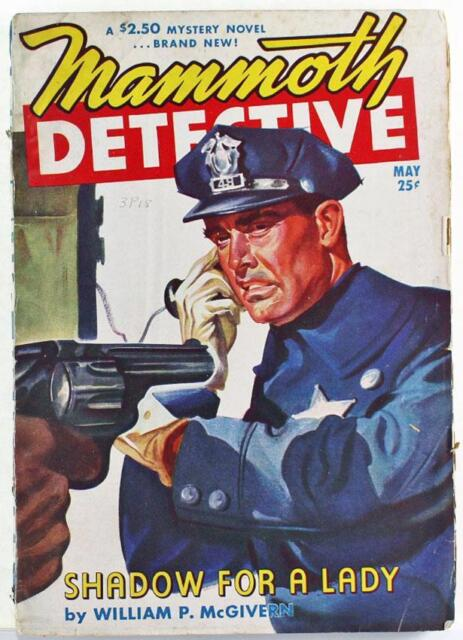 Mammoth Detective Pulp Magazine May 1947 Vol. 6 No. 5 Robert Moore Williams
