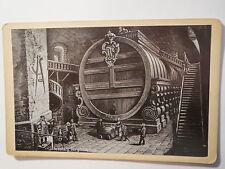 Heidelberg - Das grosse Fass mit Zwerg Perkeo - Kunstbild / KAB