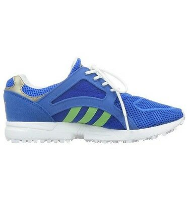 Adidas Unisex Para Niños's Racer Lite Low-Top Zapatillas, Azul Lima Blanco 3.5 UK 5.5 EU