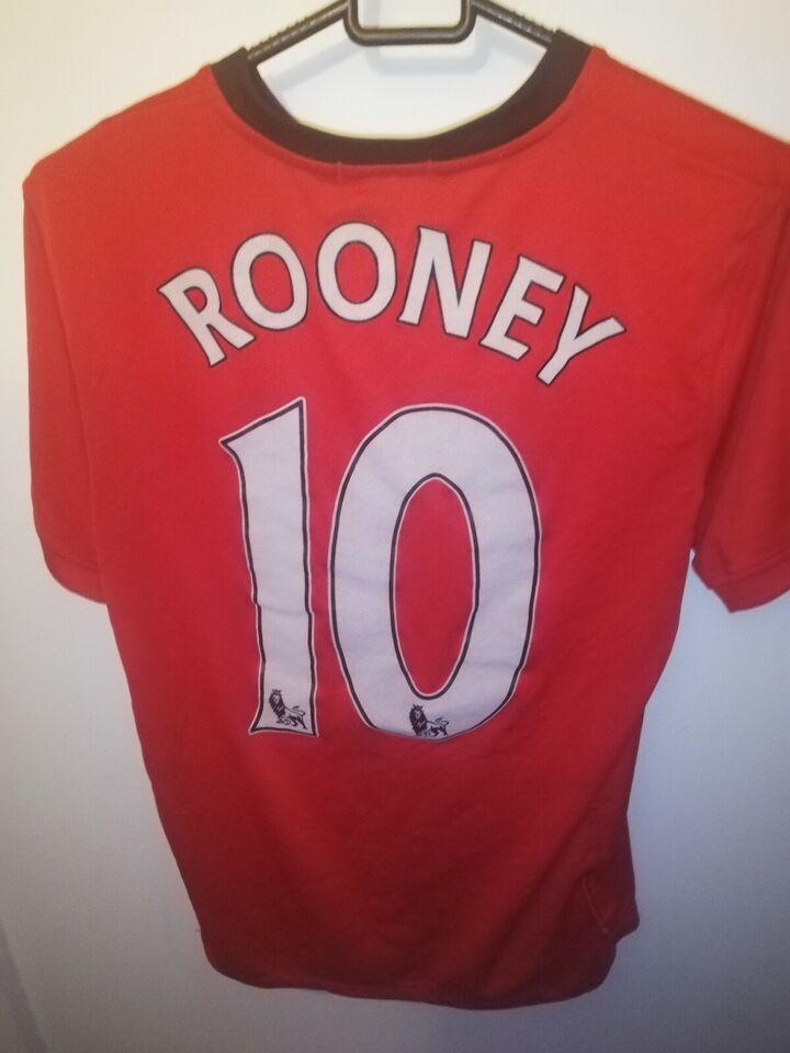 Fodboldtrøje, Wayne Rooney Manchester United trøje, Nike