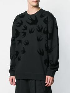 M C Q /% 100  Authentic swallow patch sweatshirt  /% 100 COTTON  pink