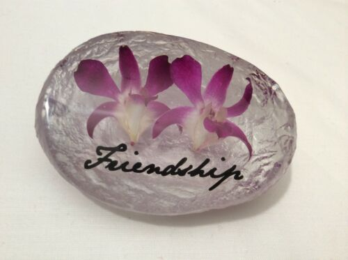 FRIENDSHIP HAND MADE WITH REAL ORCHID