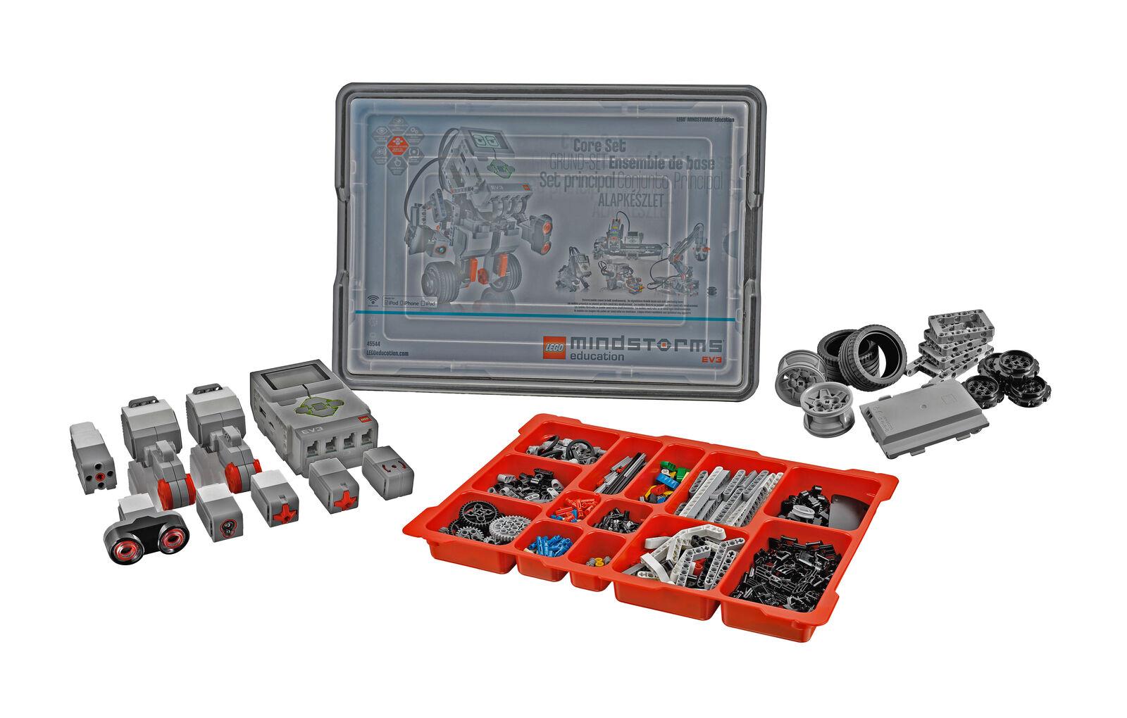 Mindstorm Ev3 Core Set 45544 nuevo edificio de capacitación de Educación Robótica