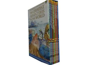 Illustrated-Children-039-s-Classic-10-Story-Books-Collection-Set-Robinhood-Ali-Baba