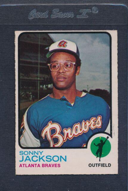 1973 OPC O-Pee-Chee #403 Sonny Jackson Braves EX *132