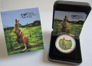 Australia-1-dolares-2014-canguro-World-Money-fair-Berlin-1-Oz-plata