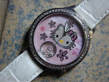 HELLO KITTY SIMMONS WATCH STAINLESS CASE BRAND NEW! VERY RARE UNISEX MODEL!!