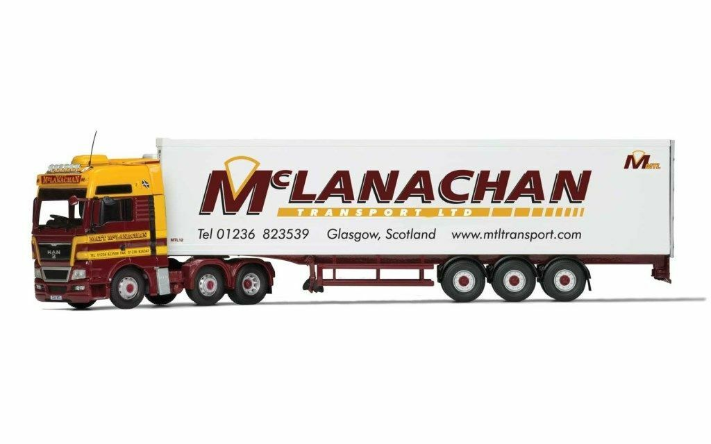 CORGI CC15212 MAN TGX Reefer - McLanachan Transport Limited