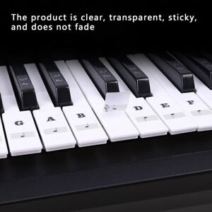 Piano-Keyboard-Stickers-Decal-Label-Note-37-49-61-88-Keys-For-Beginners-Learning