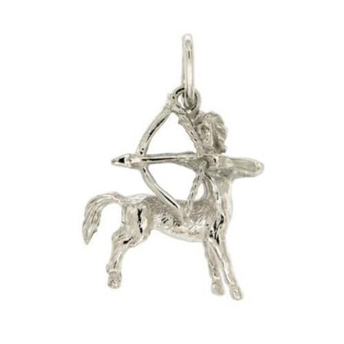 Ciondolo zodiaco in argento microfuso rodiato titolo 925 tutti i segni