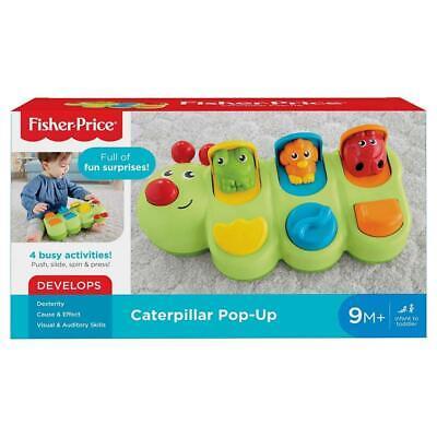 Fisher-Price Snap-Lock Caterpillar Development Brand New  /& Free Post